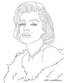 marilyn coloring pages marylin coloring pages hellokids