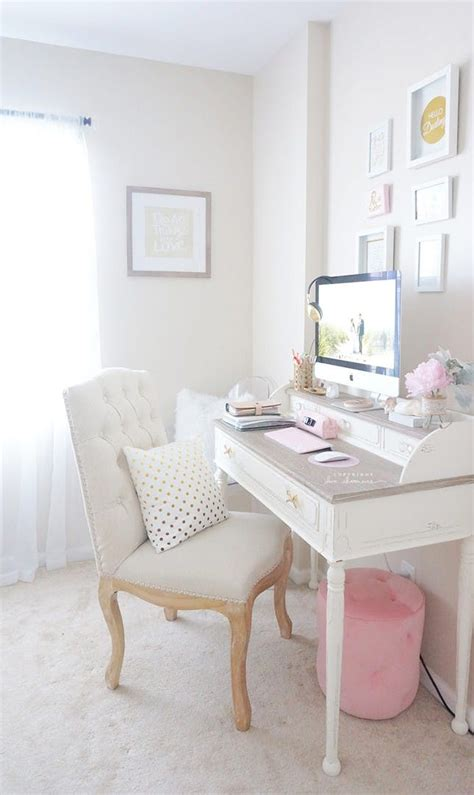 feminine office furniture 14 modern shabby chic decor ideas that are totally chic brit co