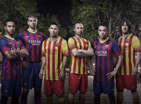 Barca Home New new barcelona kits 13 14 nike barca home away senyera