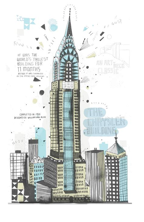 new york drawings artist draws all the buildings in nyc business insider