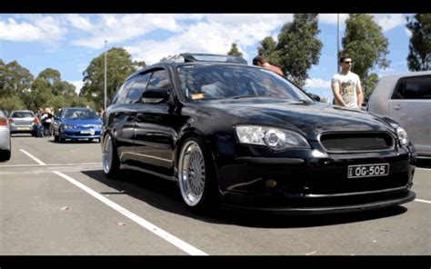 subaru legacy wagon rims lowered legacy wagon