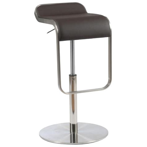 freddy leather bar stool brown bar stools