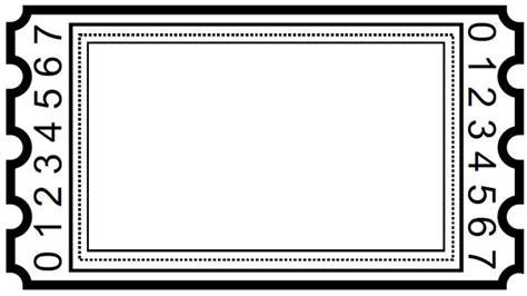 blank ticket stub template blank tickets new calendar template site