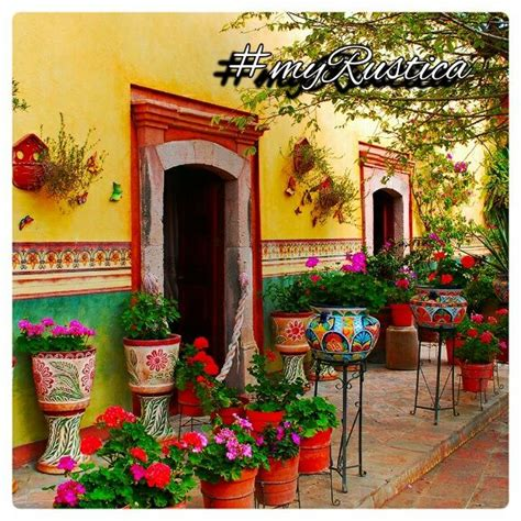 Mexican Style Decorations For Home by Best 25 Mexican Garden Ideas On Mexican Style