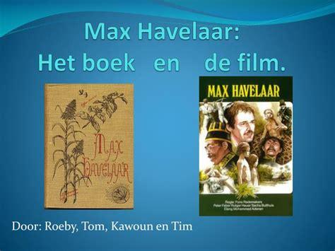Verschillen Boek En Film One Day | ppt max havelaar het boek en de film powerpoint