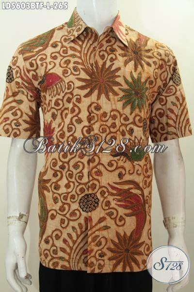 Pakaian Murah Gamis Motif Kombinasi S M L Xl 1 pakaian batik cowok motif klasik elegan dan mewah hem batik kombinasi tulis lengan pendek pake