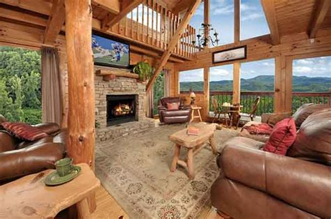 cottage with a view smoky mountain cabin rentals gatlinburg tn pigeon