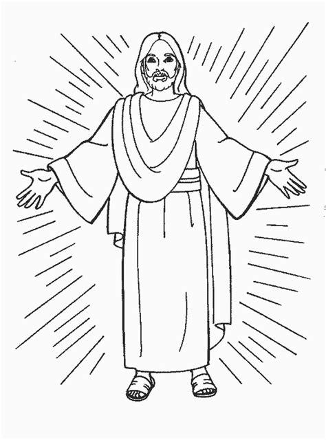 imagenes de jesus para imprimir gratis dibujos de jesus para colorear y pintar im 225 genes para pintar