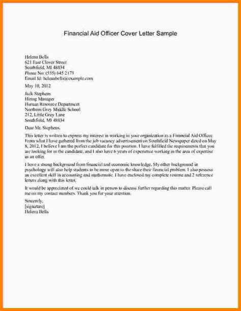 Financial Aid Appeal Request Letter Sle Financial Support Letter 25 Images 9 How To Write A Financial Support Letter Mystock Clerk