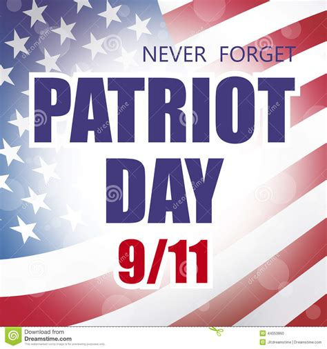 patriots day free patriot day stock vector image 44053860