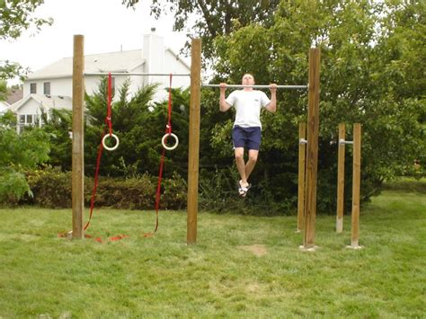 backyard gymnastics equipment best 25 backyard gym ideas on pinterest outdoor gym