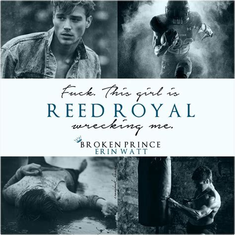 Broken Prince A Novel The Royals reed royal the royals by erin watt book character