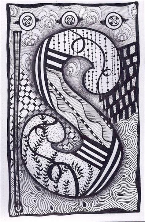 zentangle zebra pattern zentangle letter s zebra letters name bunting