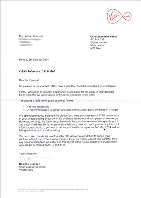 Complaint Letter Broadband Service Revk S Rants Adr