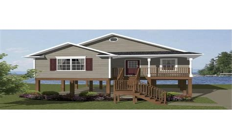 elevated home plans raised beach house plans beach house plans on pilings