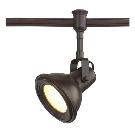 industrial look track lighting commercial electric led bronze restoration style flexible