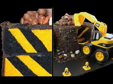 digger cake template digger cake diagonal stripe inside construction