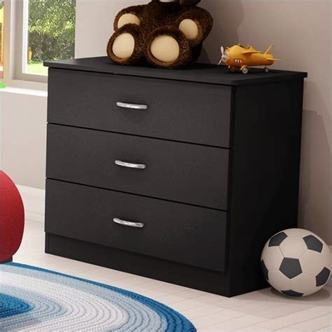 libra 4 drawer dresser in pure black finish home furniture bedroom furniture dressers libra kids 3 drawer chest in pure black finish 3070033