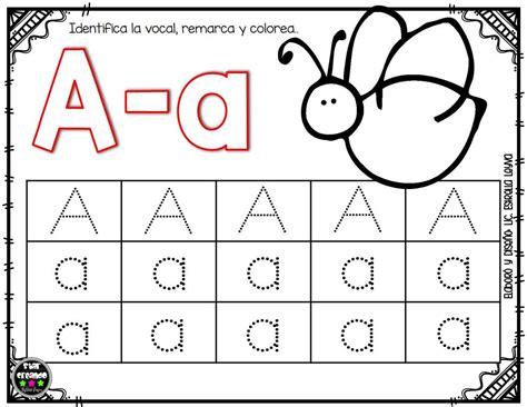 imagenes educativas para imprimir y colorear fichas vocales 2 imagenes educativas