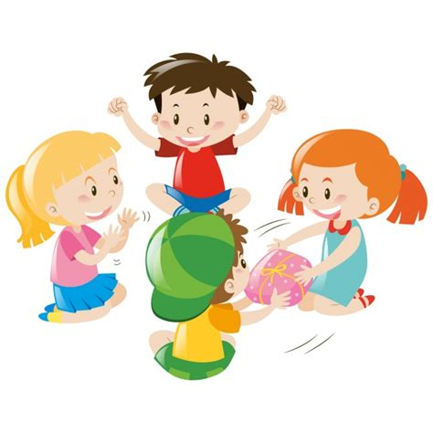 imagenes niños jugando con arena dise 241 o de ni 241 os jugando descargar vectores gratis