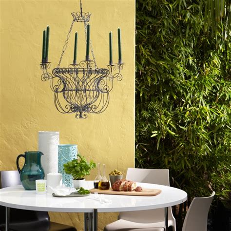 garden wall paint ideas yellow painted exterior walls colourful garden ideas