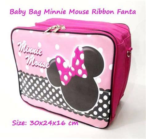 Jilbab Minnie Ribbon jual baby bag karakter minnie mouse ribbon 2in1 bisa selempang ransel di lapak binari