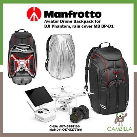 Tas Drone Manfrotto Mb Bp D1 Drone Backpack For Dji Pha Limited manfrotto aviator drone backpack for dji phantom cover mb bp d1