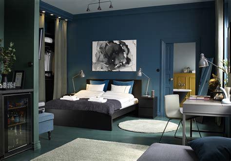 Ordinaire Peinture Chambre Gris Et Bleu #4: Une-chambre-cosy-qui-mixe-les-bleus.jpg
