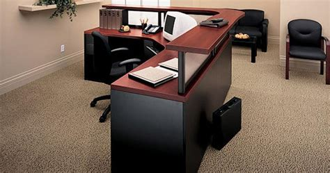 Global Reception Desk Divide Desk Mount Panel System For Adaptabilities And Correlation Collections From Global Total