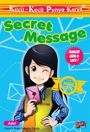 buku kkpk secret message penulis adel penerbit mizan publishing kategori toko buku