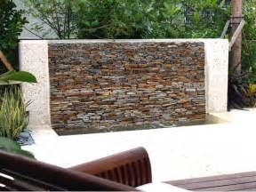 garden feature wall ideas image mag