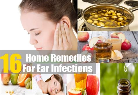 home remedies for ear infections treatments