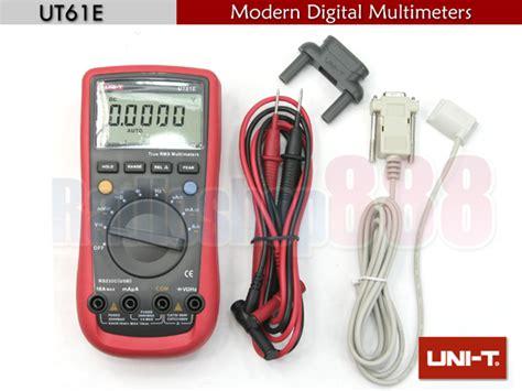 Uni T 61e uni t ut 61e modern digital multimeters ut61e ebay