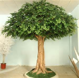 high quality artificial ficus tree indoor decoration