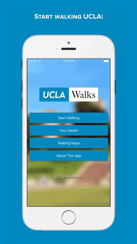 walking app ucla walks app ucla health