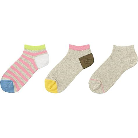 Striped Ankle Socks striped ankle socks 3 pack pairs uniqlo us