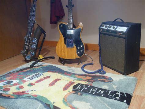 Guitar Area Rug Guitar New