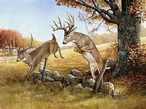 Deer Hunting Wall Murals white tail deer painting art by larry chandler deer