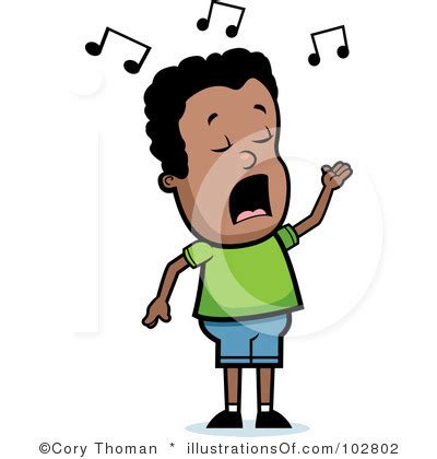 Standar 1 Sing Crom singing clipart clipart panda free clipart images