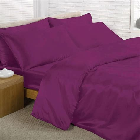 Duvet Sheet Satin Bedding Sets Duvet Cover Fitted Sheet Pillowcases