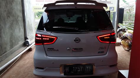 Lu Led Grand Livina led bar sein flowing all new nissan grand livina 2016
