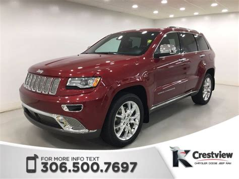Pre Owned 2014 Jeep Grand Used 2014 Jeep Grand Summit Ecodiesel Sunroof