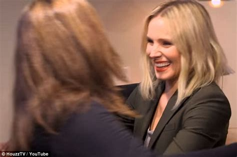 kristen bell houzz kristen bell surprises her sister in michigan daily mail