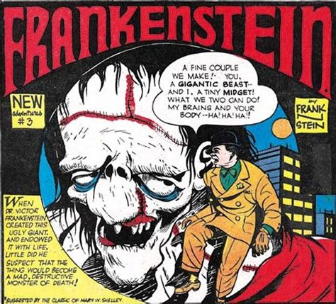 frankenstein of a chion books frankenstein comics greatest den of