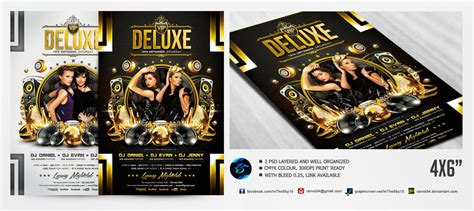template flyer vip vip deluxe flyer template by ranvx54 on deviantart