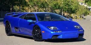 Blue Lamborghini Diablo Blue Lamborghini Diablo
