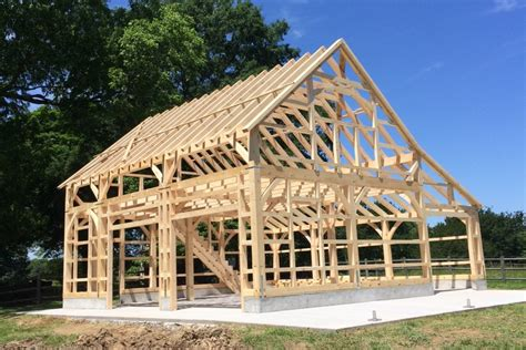 Lean To Barns Timber Frame Photos The Barn Yard Amp Great Country Garages