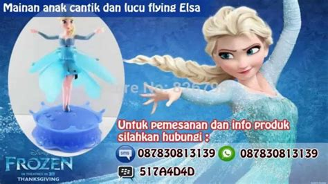 Mainan Anak Murah Strika Frozen jual mainan anak murah lucu terbaru flying elsa frozen