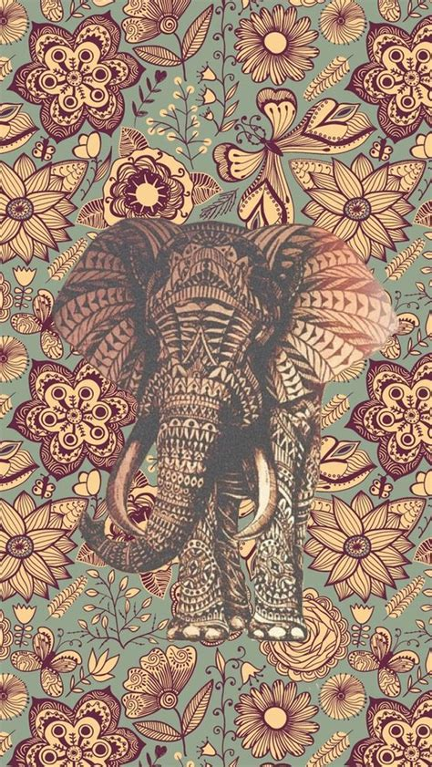 elephant pattern iphone wallpaper reproduction vintage wallpapers 28 wallpapers