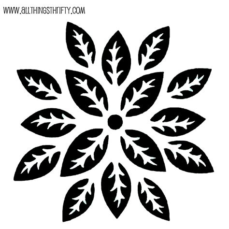 Stencil Patterns Just For You Stencil Template